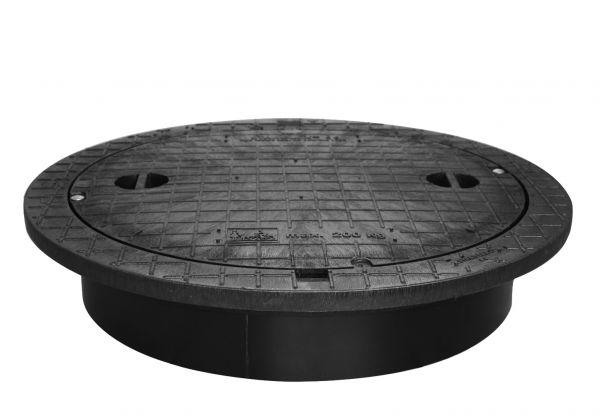 PE-Deckel von STABIFLEX - begehbar bis 200 kg