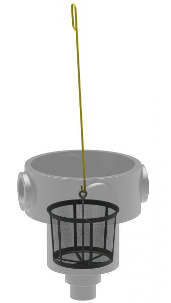 Einbaufilter inkl. Filterkorb und Aushebhaken